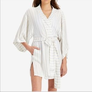 Onia wrap jacket cover up